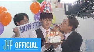 """[스타캐스트] 2PM 장우영 """"뚝"""" M/V 메이킹 필름! (Feat. 준케이, 찬성)"""