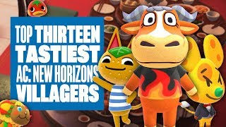 Top 13 Tastiest Villagers In Animal Crossing: New Horizons - WHICH FOOD INSPIRED ANIMALS DO U LOVE?