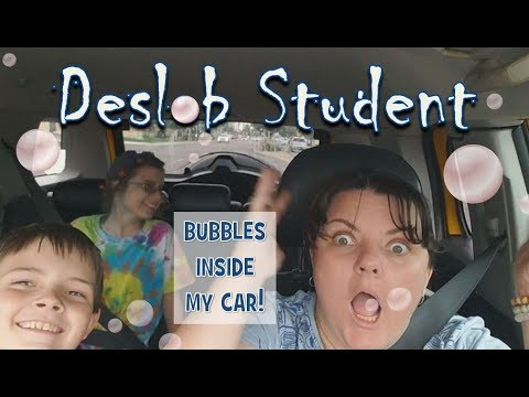 Bubbles Inside My Car! Clean *and laugh* with us!