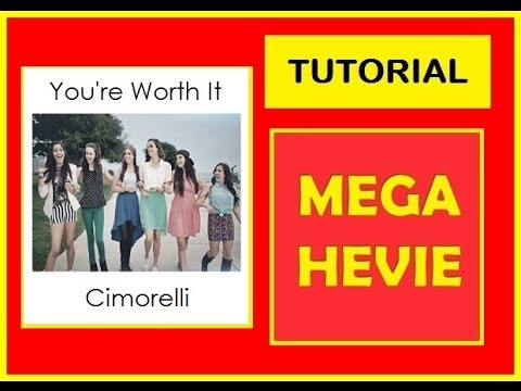 Chord Tutorial Youre Worth It Cimorelli Keyboardpiano