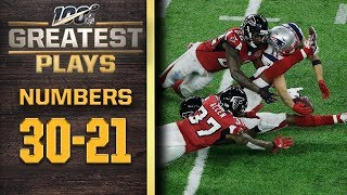100 Greatest Plays: Numbers 30-21 | NFL 100