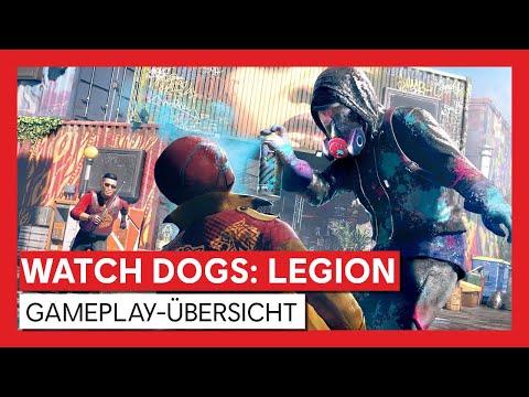 Watch Dogs: Legion - Gameplay-Übersicht [OFFIZIELL]   Ubisoft [DE]