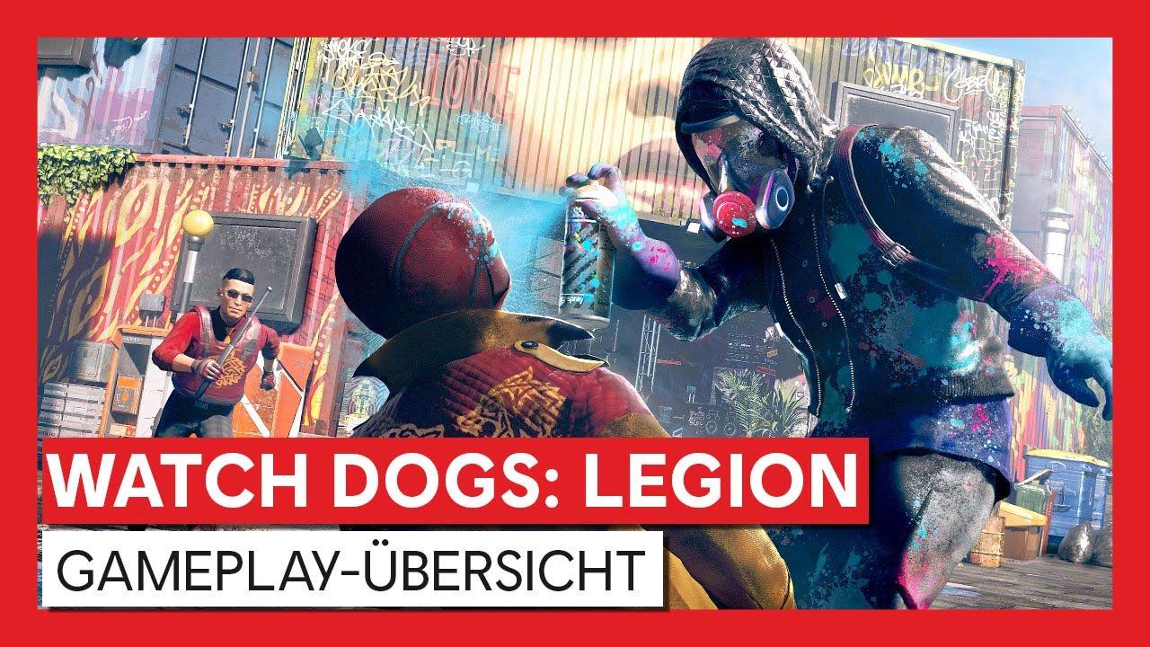 Watch Dogs: Legion - Gameplay-Übersicht| Ubisoft