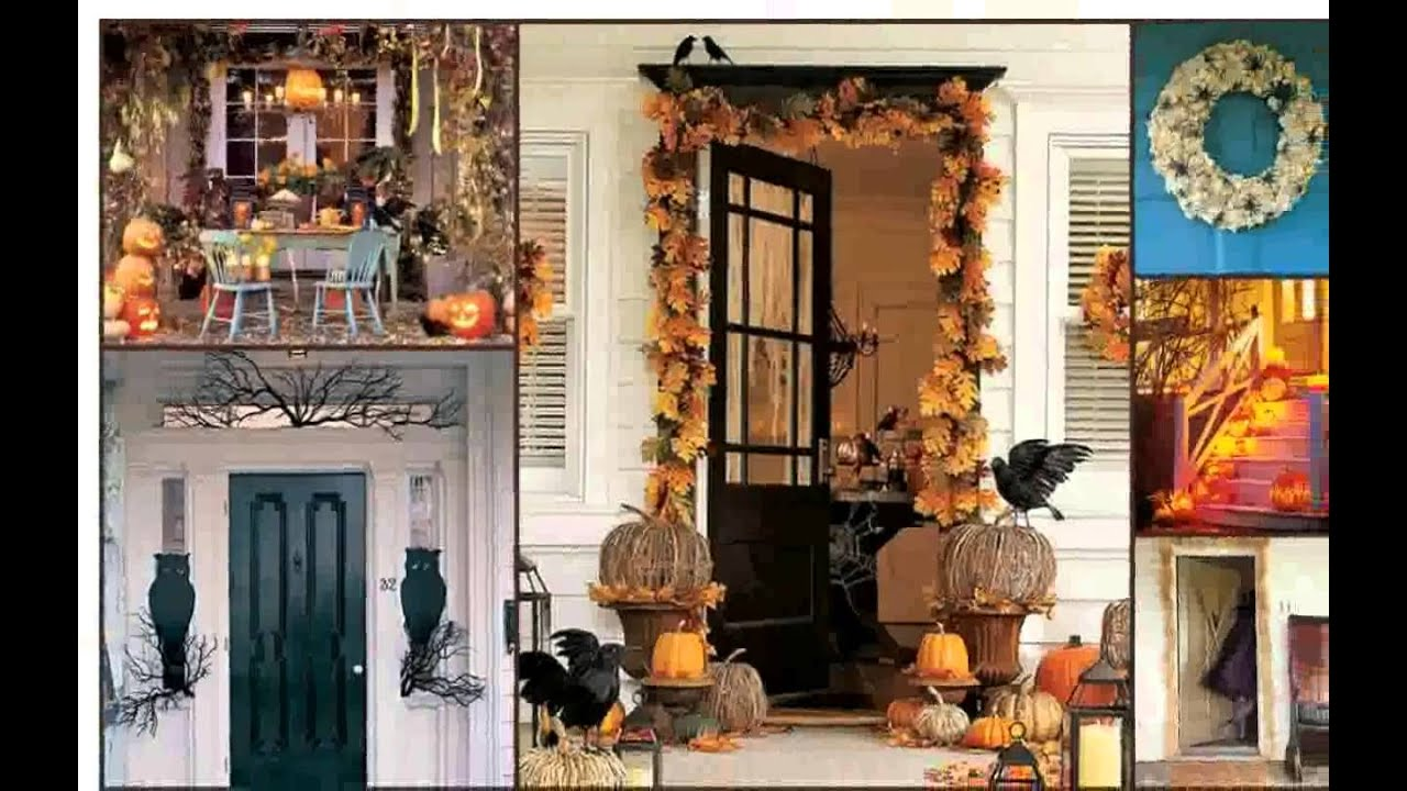 outdoor halloween decorations youtube - Small Halloween Decorations