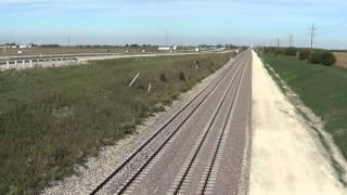 Amtrak High Speed Testing @110 MPH 9/27/12