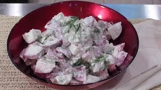Simple Red Skin Potato Salad : Potato Salad Recipes & More