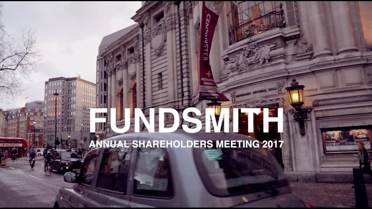 FUNDSMITH Annual Shareholders' Meeting 2017