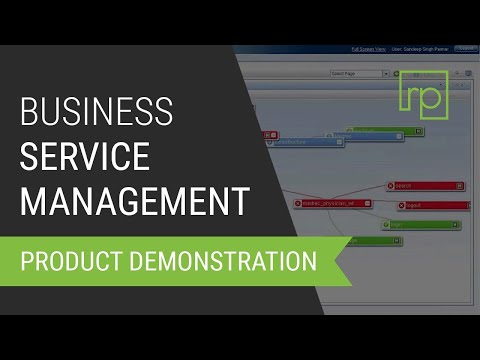 Hp Business Service Management Bsm Overview