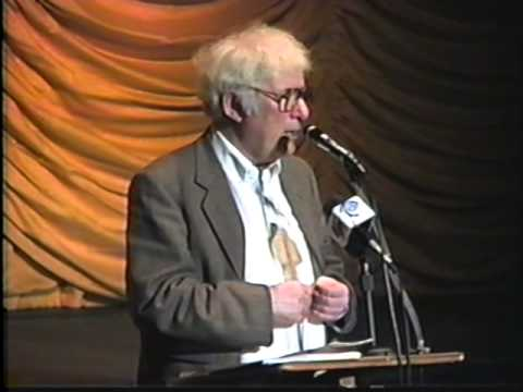 Seamus Heaney at The Dwight Englewood School 1996