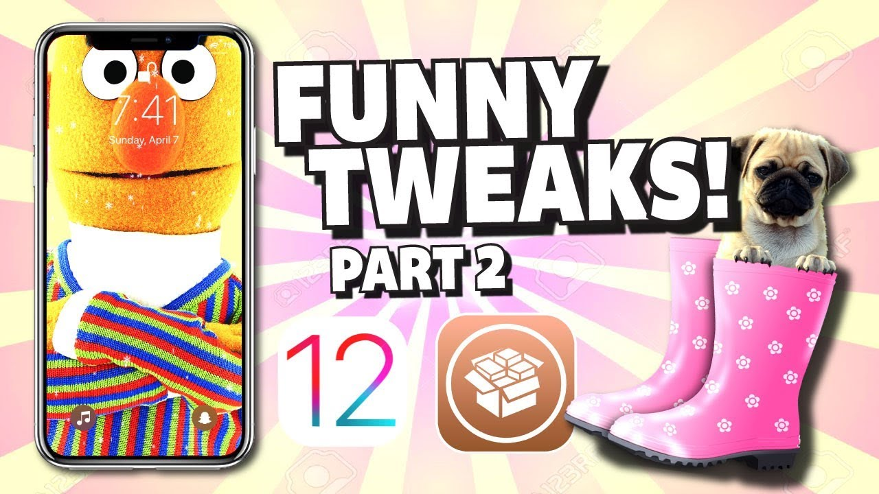 iOS 12 FUNNY TWEAKS! Part #2 for iPhone, iPad and iPod Touch
