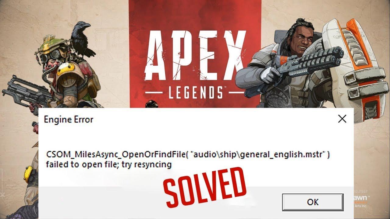 Apex legends engine error solved in hindi
