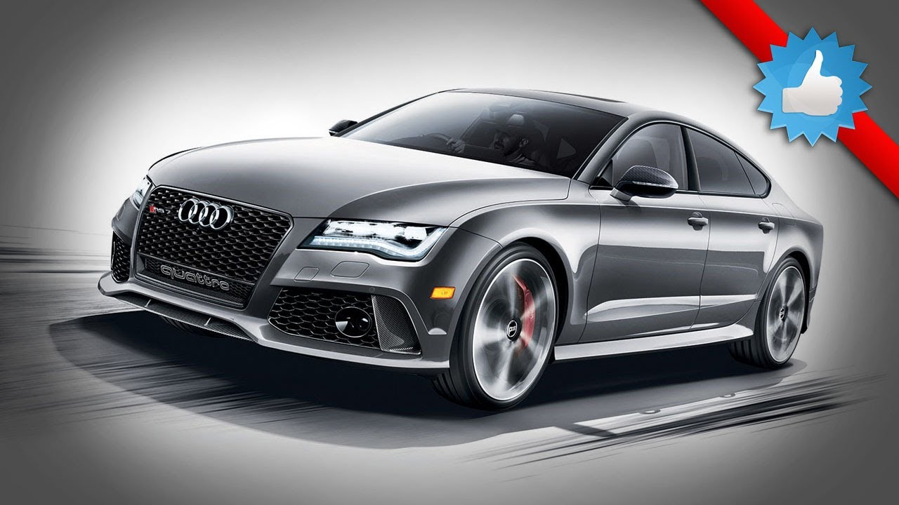 2015 Audi RS7 Dynamic Edition: 560-HP - YouTube