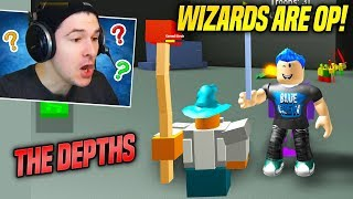 *NEW* DEPTHS AREA AND OP WIZARDS IN ARMY CONTROL SIMULATOR UPDATE!! (Roblox)