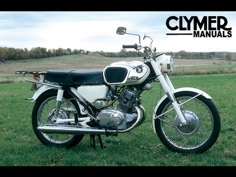 Clymer Manuals Honda CB125 CL125 CB160 CL160 CB175 CL175 CB200 CL200  Motorcycle Manual - YouTubeYouTube