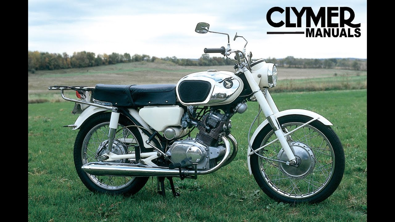 clymer manuals honda cb125 cl125 cb160 cl160 cb175 cl175 cb200 rh youtube com Honda Z50 Wiring-Diagram Basic Bobber Wiring-Diagram