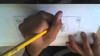 how to draw a dollar bill part2