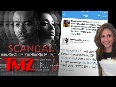 Columbus Short Hosting Scandal Premiere Party | TMZ
