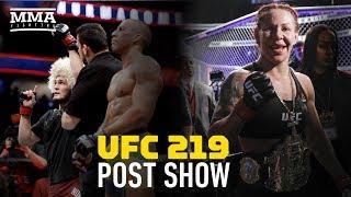 Video UFC 219 Post-Fight Show - MMA Fighting download MP3, 3GP, MP4, WEBM, AVI, FLV September 2018