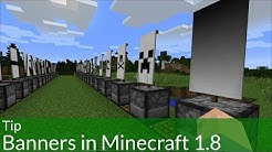 Tip: How to Make Banners in Minecraft 1.8