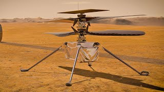 video: Nasa makes history with first ever helicopter flight on Mars - live updates