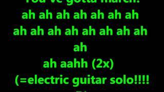 Sleigh bells riot rhythm lyrics