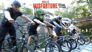 WHEEL OF MISFORTUNE RACE!