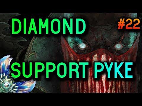 SUPPORT PYKE 8.13 Diamond Full Gameplay #22 - League of Legends thumbnail