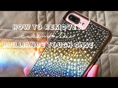 new concept 8539e a5cb2 Case-Mate | How To Remove a Brilliance Tough Case for iPhone 7 Plus