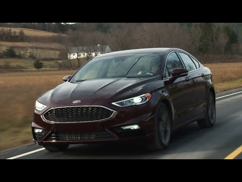 road test 2017 ford fusion sport a twin turbo v6 fusion. Black Bedroom Furniture Sets. Home Design Ideas
