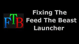 Stop The Feed The Beast Launcher From Crashing - Minecraft In Minutes