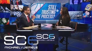 Did 76ers' Process Take Step Back With Ben Simmons Out For Rest Of Season? | SC6 | February 24, 2017