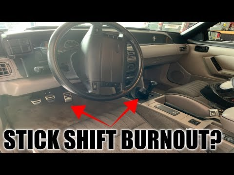 How To Do A Stick Shift Burnout! *EASIER THAN YOU THINK