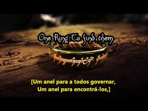 Ring Poem reciting by Christopher Lee