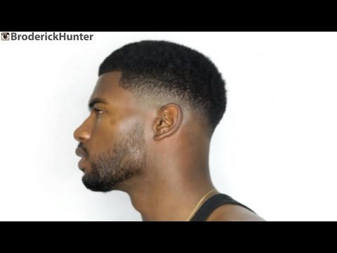 """Broderick's Way To Do A """"Bald Drop Fade"""" Haircut Using The Self Cut System 2.0"""