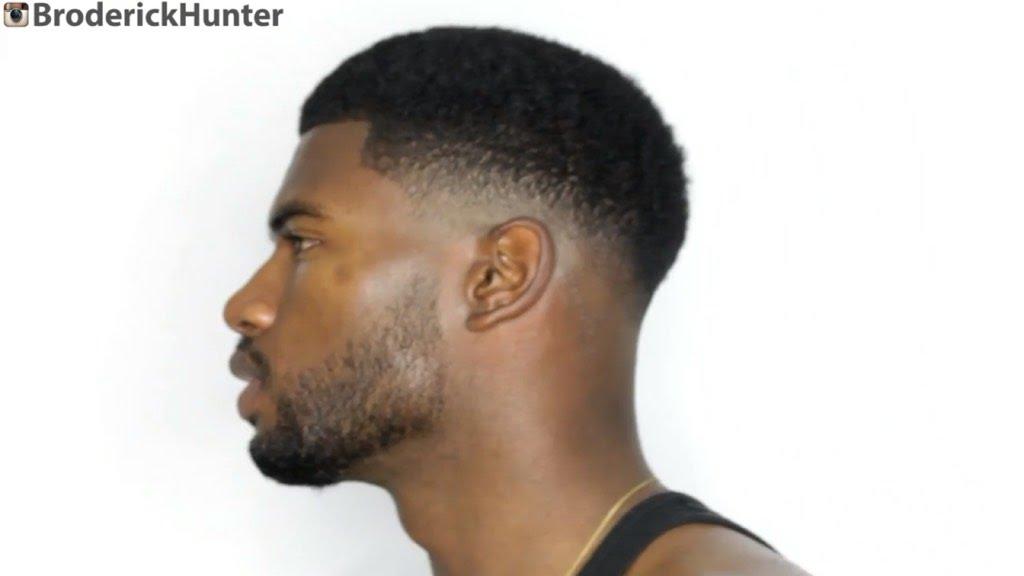 bald drop fade haircut