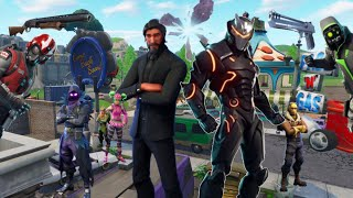 Fortnite blockbuster war trailer(takes place near end of season 4)