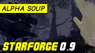 StarForge v0.9: early survival mode gameplay | Alpha Soup