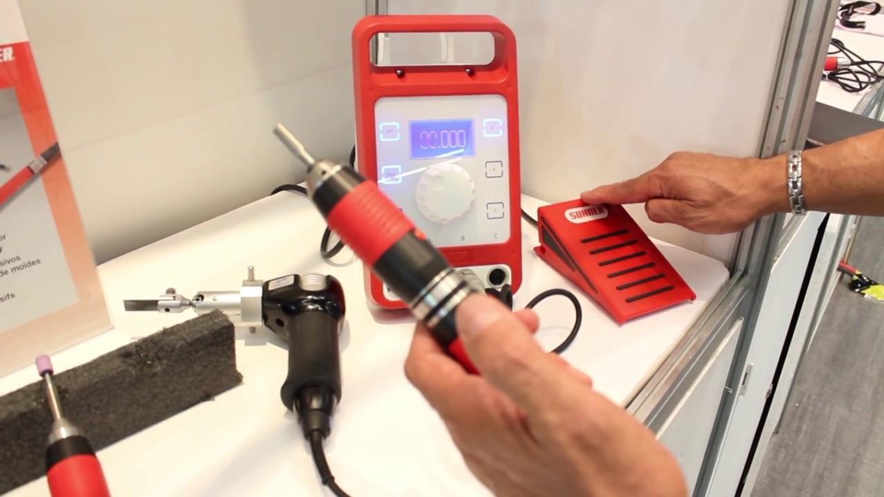 Suhner presentó nuevo sistema de micromotores
