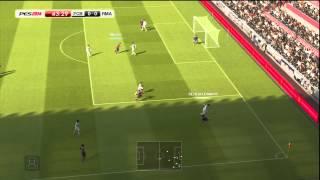 PES 2014 video de gameplay FC Barcelona VS Real Madrid