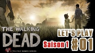 THE WALKING DEAD (Saison 1) - Episode #1 [PS4-Face Commentary] L'accident
