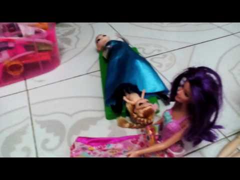 Nơi barbie sinh sống hằng ngày tập 2 elsa sinh em