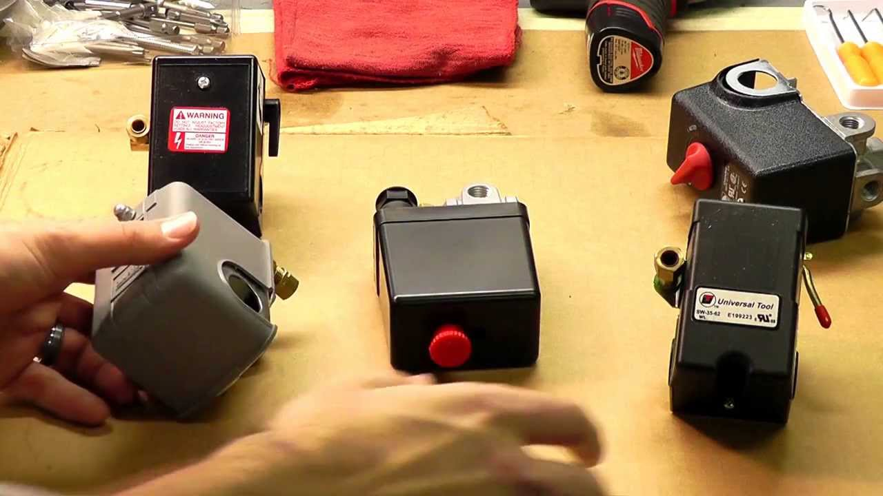 Pressure Switch Replacement For Air Compressors  YouTube
