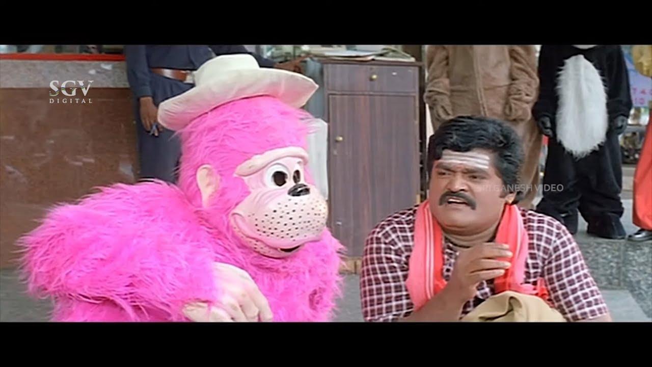 Veeranna Kannada Movie Back To Back Comedy Scenes | Jaggesh | Ravali | Tennis Krishna