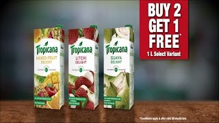 Great offer on Tropicana juice only at #TheBaahubaliSale