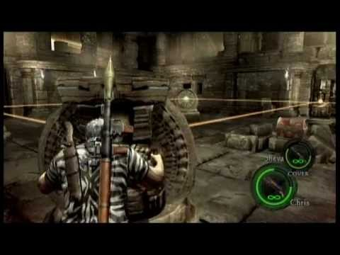 Resident Evil 5 Chapter 4 2 Worship Area Puzzle Guide Youtube