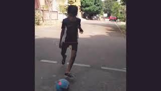 Crazy street football trickshots