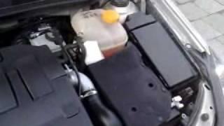 Motorwaesche Opel Astra