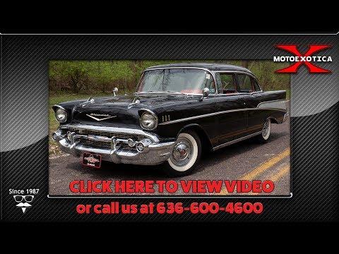 1957 Chevrolet Bel Air Sedan    For Sale