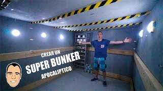 CREAR UN SUPER BUNKER APOCALIPTICO A MANO *es muy grande* [Ninchiboy] thumbnail