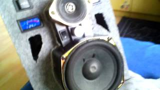 MY HOMEMADE Bluetooth Boom Box Speaker with remote control 80W RMS